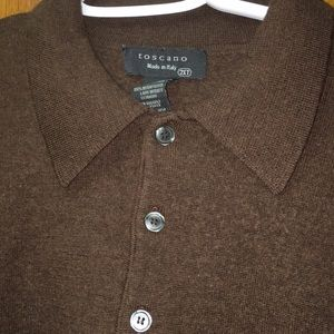 Toscano Made in Italy Men's Cardigan Sweater